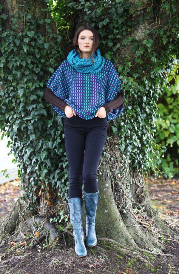 Box Tuck Jumper BOXJMP2-3 Linda Wilson Knitwear Irish Designer Limerick