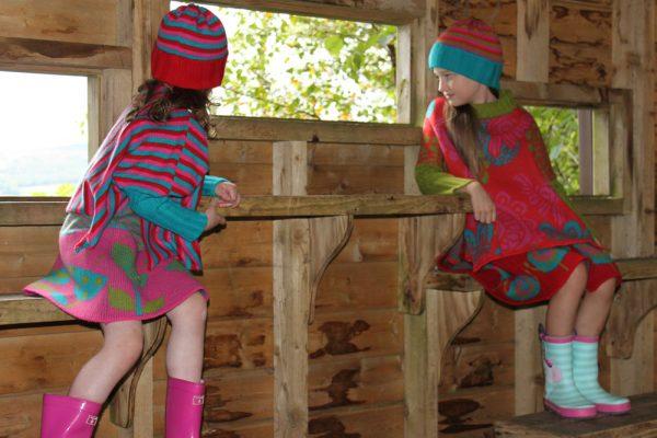 Flower Jumper JMP3-3 Linda Wilson Knitwear Irish Childrens Knitwear Designer Limerick