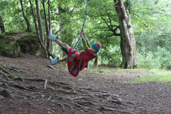 Flower Jumper JMP3-4 Linda Wilson Knitwear Irish Childrens Knitwear Designer Limerick