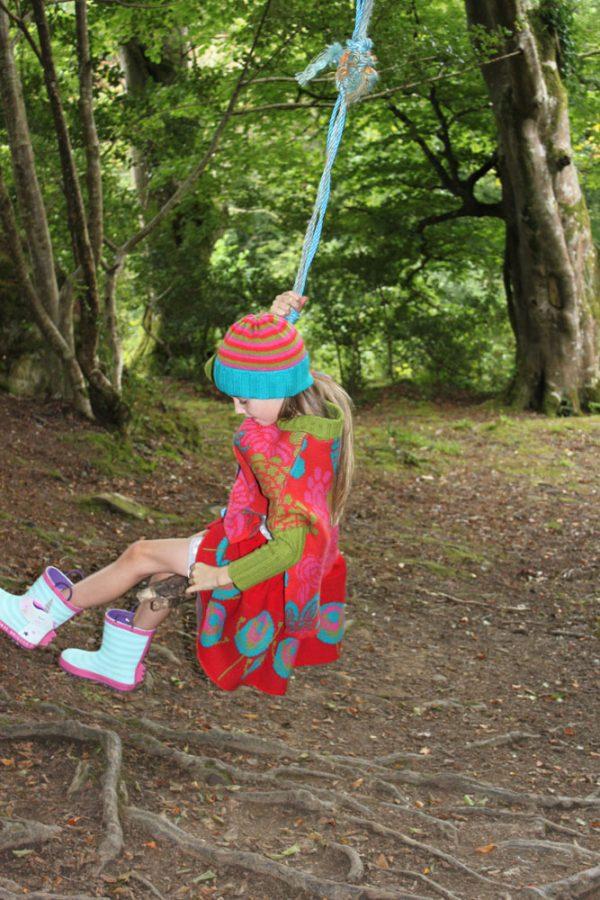 Flower Jumper JMP3-5 Linda Wilson Knitwear Irish Childrens Knitwear Designer Limerick