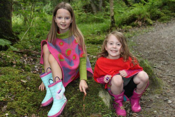 Heart Dot Jumper JMP4-4 Linda Wilson Childrens Knitwear Irish Designer Limerick