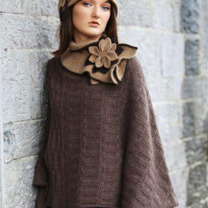 Petal Cloche Hat HAT27-2 Linda Wilson Knitwear Irish Designer Limerick