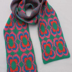 Daisy Scarf SCF12-1 Linda Wilson Childrens Knitwear Irish Designer Limerick