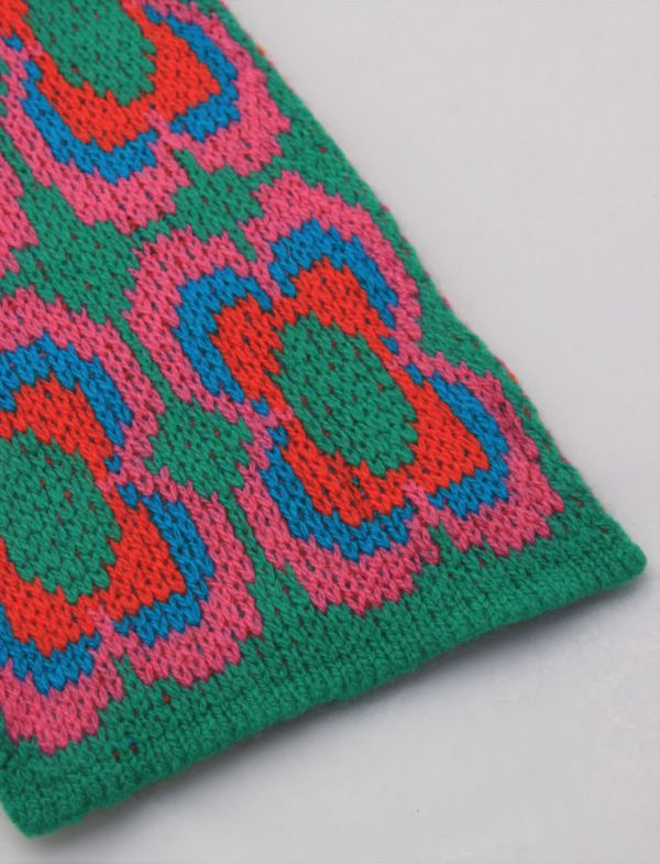 Daisy Scarf SCF12-3 Linda Wilson Childrens Knitwear Irish Designer Limerick