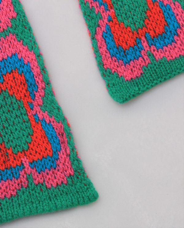 Daisy Scarf SCF12-4 Linda Wilson Childrens Knitwear Irish Designer Limerick
