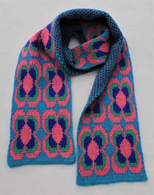 Daisy Scarf SCF12-5 Linda Wilson Childrens Knitwear Irish Designer Limerick