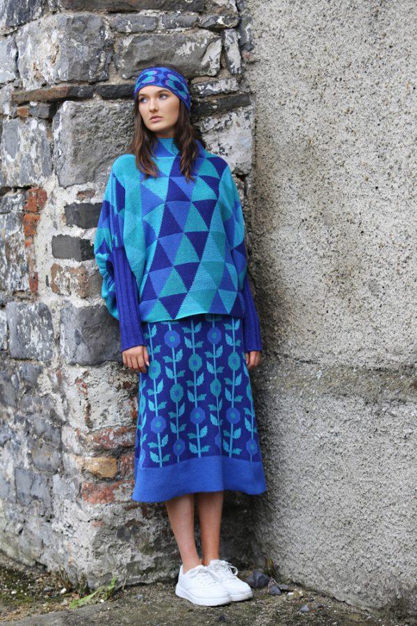 Triangular Jumper 6 Linda Wilson Irish Knitwear Designer Limerick