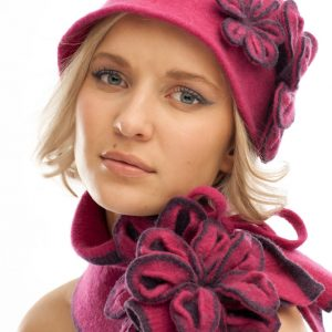 Vintage Blossom Hat €50.00/Tie Blossom Scarf €45.00