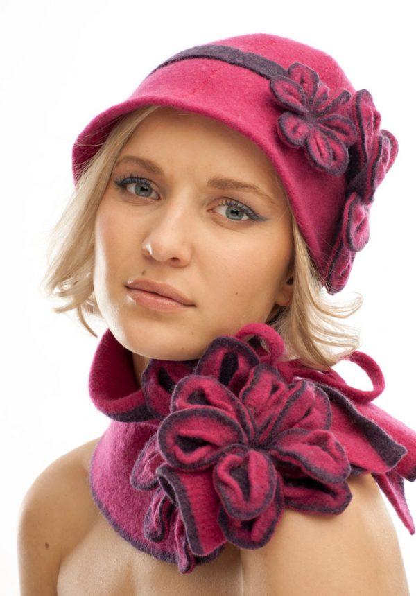 Vintage Blossom Hat €50.00/Tie Blossom Scarf €45.00